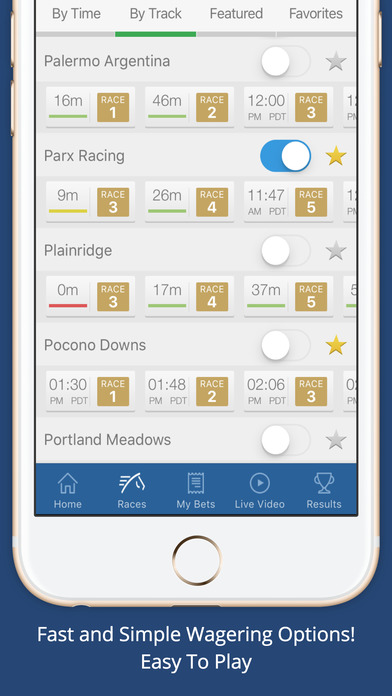 tvg mobile features